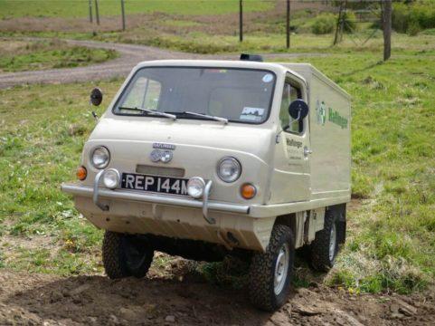 Haflinger Poly Cab Front
